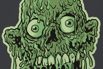 "Tarman- Bottleneck Gallery- ""Can't Beat Em, Join Em Zombie"""